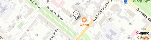 Наденька, магазин одежды на карте Орла