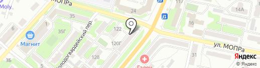 EMEX на карте Орла