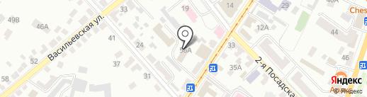 Центр гигиены и эпидемиологии в Орловской области на карте Орла