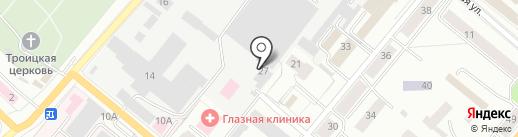 Русская механника на карте Орла