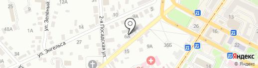 Палитра на карте Орла