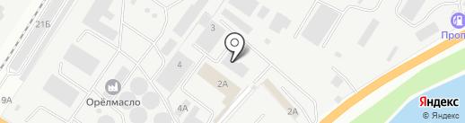 Стройконтакт, ПО на карте Орла