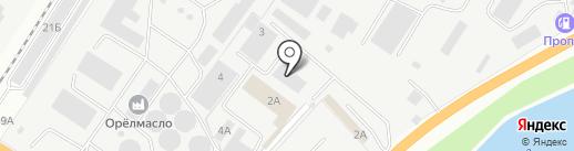Тенты на карте Орла