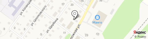 Ёлочка на карте Воротынска