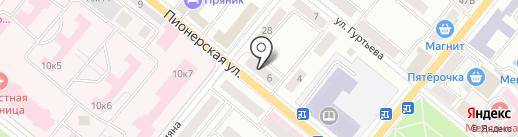 ЕвроАвто на карте Орла