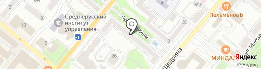 Студия персонального тренинга Татьяны Шутенко на карте Орла