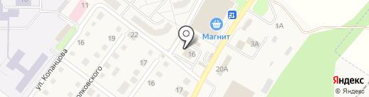 Чара на карте Воротынска