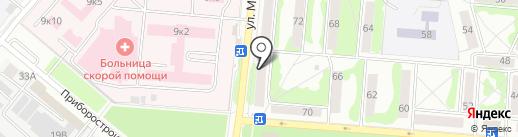 Окна-Эксперт на карте Орла
