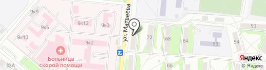 Компания по очистке выгребных ям на карте Орла