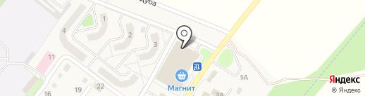 Аморе на карте Воротынска