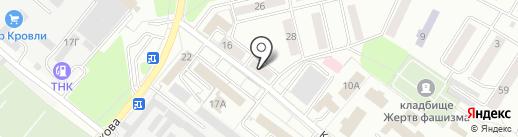 КомРад на карте Орла