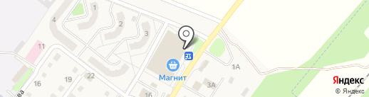 За рулем на карте Воротынска