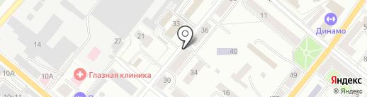 Магазин на Шаумяна на карте Орла