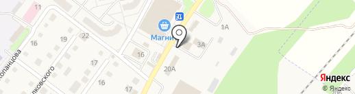 Автомойка на карте Воротынска
