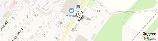 Автостоянка на карте Воротынска
