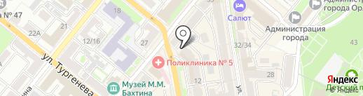 Содействие, ЗАО на карте Орла