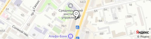 Смарт.ру на карте Орла