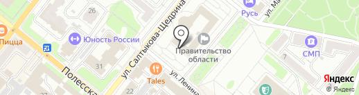 Инспекция Госархстройнадзора на карте Орла