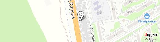 TORETTO на карте Курска