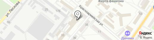 М1-сервис на карте Орла