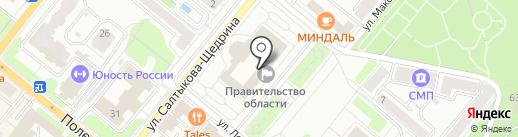 Избирательная комиссия Орловской области на карте Орла