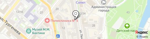 Галерея на карте Орла