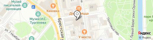Active Moms на карте Орла