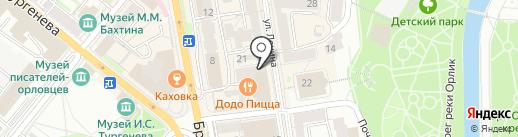 Нови на карте Орла