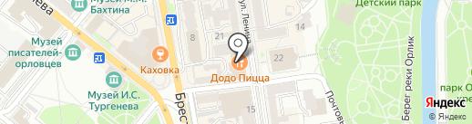 Tesoro на карте Орла