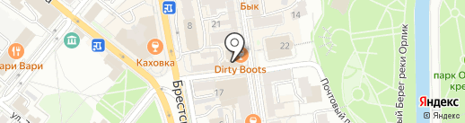 КПРФ на карте Орла
