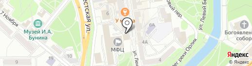 Мировые судьи Заводского района на карте Орла