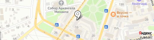 Кураж на карте Орла