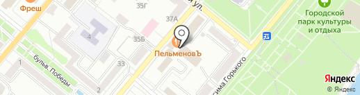 РАЗДЕВАЛКА57.РФ на карте Орла