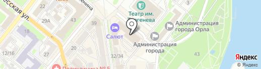 Экоплюс на карте Орла