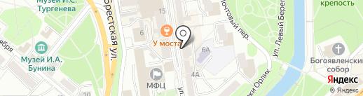 Салон подарков на карте Орла