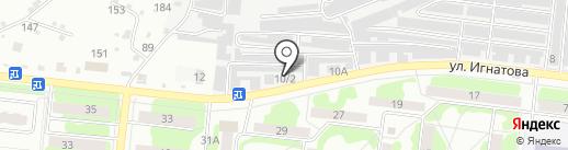 Автоздоровье на карте Орла