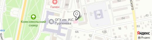 Пятёрочка на карте Орла