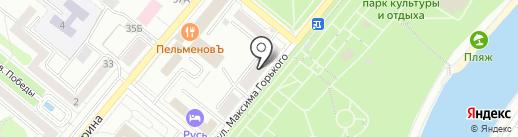 Новая площадь на карте Орла