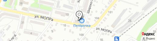 Грузомикс на карте Орла