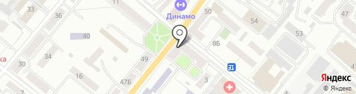 Ярославна на карте Орла
