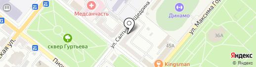 Промпроект на карте Орла
