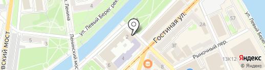 Областной дворец культуры профсоюзов на карте Орла