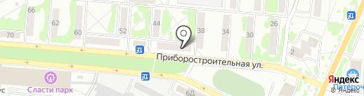 Орловская научная медицинская библиотека на карте Орла
