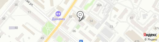 Лига на карте Орла