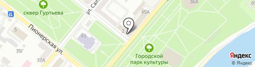 Стройтерминал на карте Орла