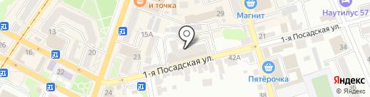 Леди Люкс на карте Орла