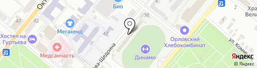БПС на карте Орла