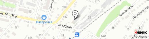 Специализированная пожарно-спасательная часть ФПС по Орловской области на карте Орла