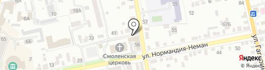 Отдел Военного комиссариата Орловской области по Заводскому и Советскому районам на карте Орла
