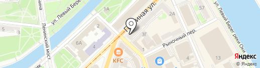 Народная реклама на карте Орла